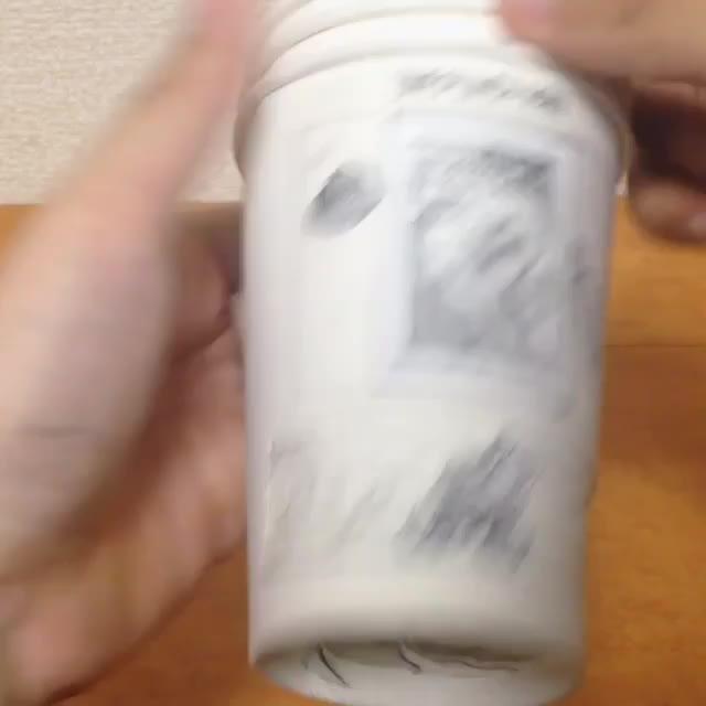 国外动画纸杯创意设计案例